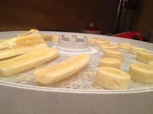 Banana before